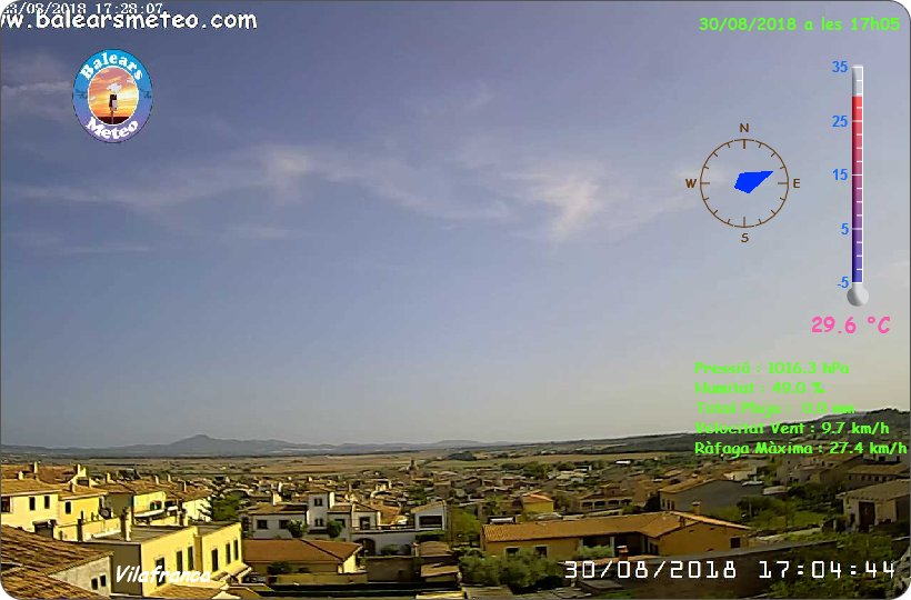 Webcam Vilafranca